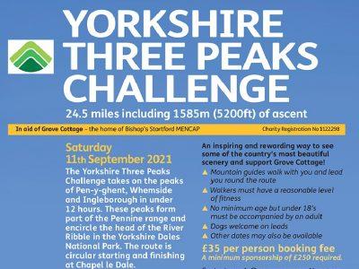Yorkshire Three Peaks Challenge EVENT FULL